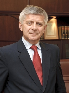 Head of National Bank of Poland Marek Belka. Source: Archiwum NBP