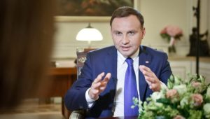 President Duda in an interview with the German media.