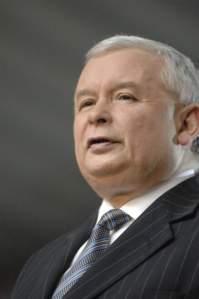Jarosław Kaczyński, leader of Law and Justice (PiS).