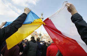 Poland Ukraine Protests